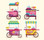 创意棉花糖车