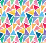 三角形无缝背景