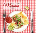 墨西哥菜肴矢量