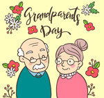 可爱祖父母节
