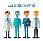 扁平化男医生