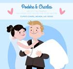 抱起新娘的新郎