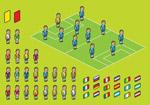 像素足球运动