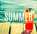 时尚夏季派对海报