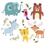 可爱动物设计