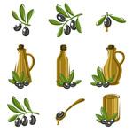 橄榄矢量素材