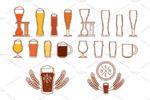啤酒主题素材