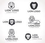 抽象狮子标志