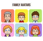 爱家族人物头像