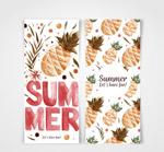 夏季菠萝卡片
