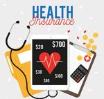 创意医疗保险元素