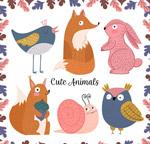 6款彩绘动物