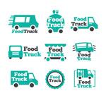 绿色快餐车标志