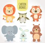 可爱微笑动物