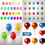 五彩缤纷气球