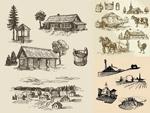 农业生产主题插图
