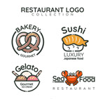 食物餐馆标志