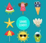 夏季表情物品