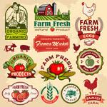 复古农场品标签