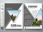 三角排版宣传册