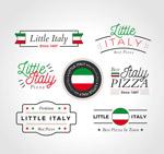 意大利披萨标志