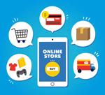 网上购物元素