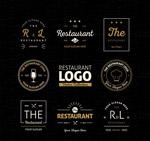 抽象餐厅标志