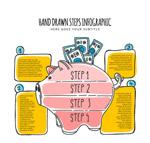 储蓄罐猪信息图