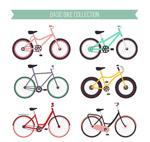 6款彩色单车