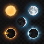 太阳月亮日食