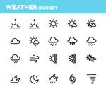 天气图标集矢量