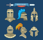 创意骑士头盔
