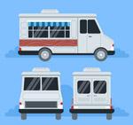 白色快餐车