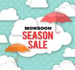 雨季促销海报