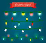 圣诞节彩灯串