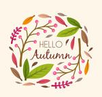 彩色你好秋季