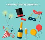 新年派对元素