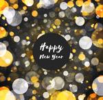 新年光晕贺卡