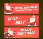 圣诞老人banner
