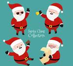 时尚可爱圣诞老人