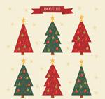 手绘圣诞树