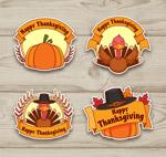 纸质感恩节标签