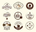 咖啡标签集合