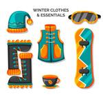 冬季滑雪服饰