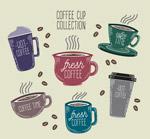 彩绘咖啡杯