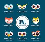 猫头鹰头像标志