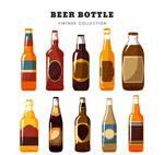 彩绘瓶装啤酒