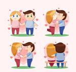 卡通幸福情侣