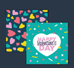 情人节爱心卡片