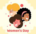 妇女节女子头像